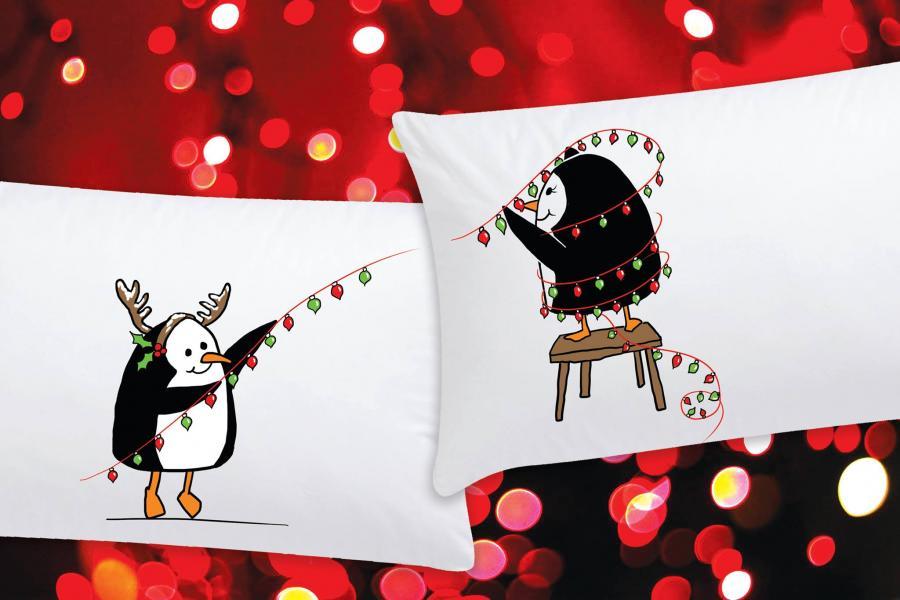 Коледата на пингвините
