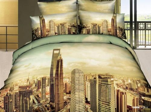 3D спално бельо CITY