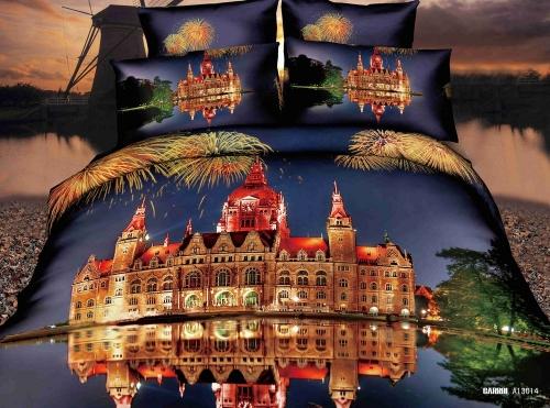 3D спално бельо PALACE