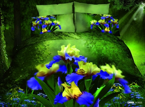 3D спално бельо NATURE